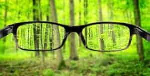 Vision through Glasses
