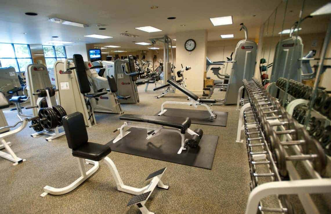 Work out in a world-class spa!